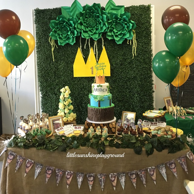 where the wild things are theme birthday party   happy kid